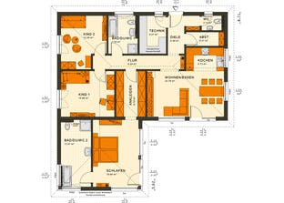 schl sselfertiges fertighaus bis euro. Black Bedroom Furniture Sets. Home Design Ideas