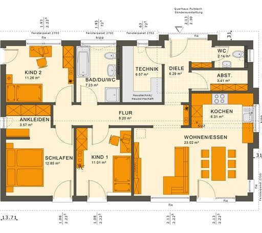 Solution 100 V4-V5 Floorplan 1