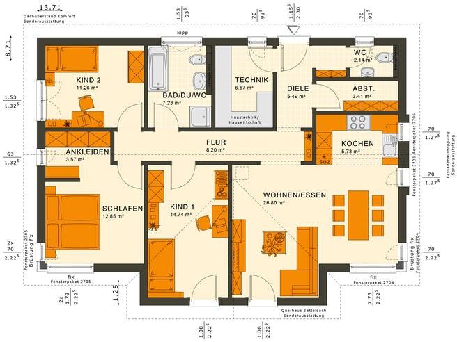 Solutions 100 V5 Floorplan 2