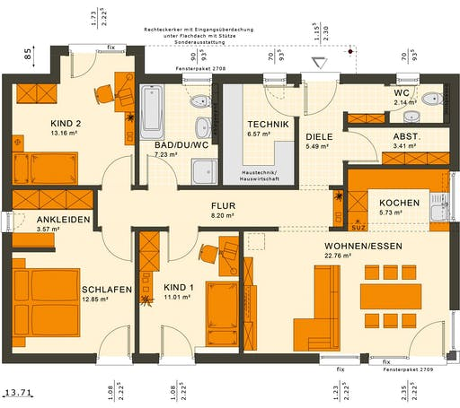 Solutions 100 V7 Floorplan 2