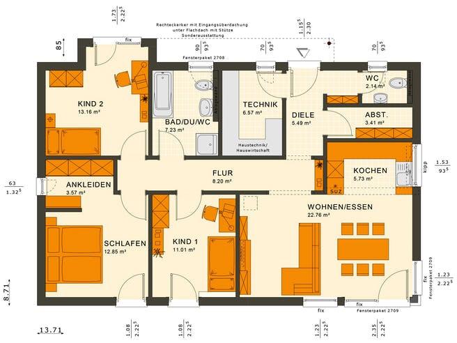 Solutions 100 V7 Floorplan 2