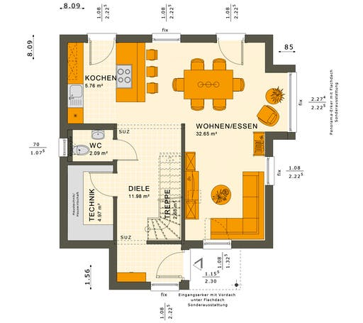 Solution 106 V8-V9 Floorplan 1