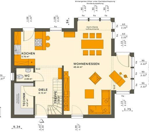 Solution 124 V2-V3 Floorplan 1