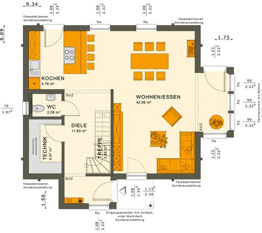 Solution 124 V8 Floorplan 1