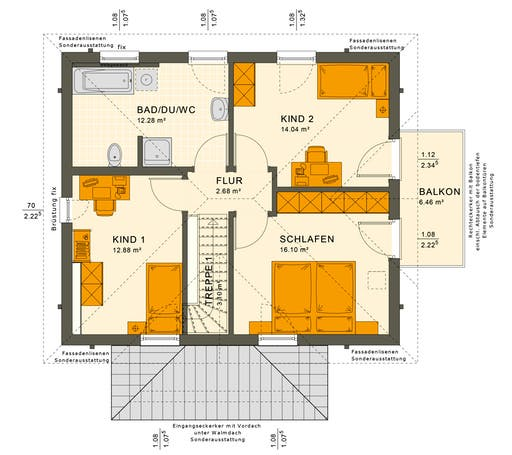 Solution 124 V8 Floorplan 2