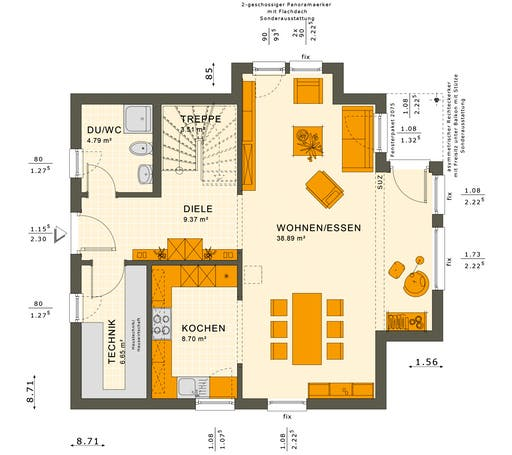 Solution 125 V10 Floorplan 1
