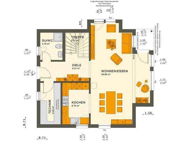 Solution 125 V10 Floorplan 1