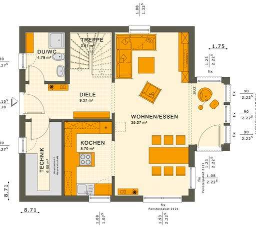Solution 125 V2-V3 Floorplan 1