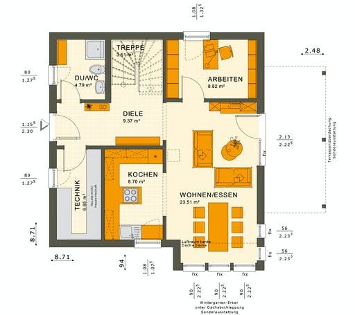 Solutions 125 V3 Floorplan 3