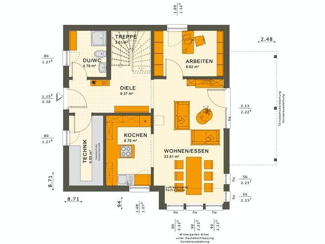 Solutions 125 V3 Floorplan 3