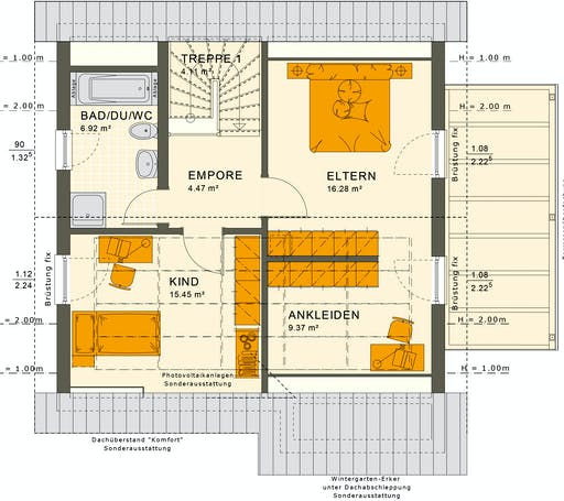 Solutions 125 V3 Floorplan 4