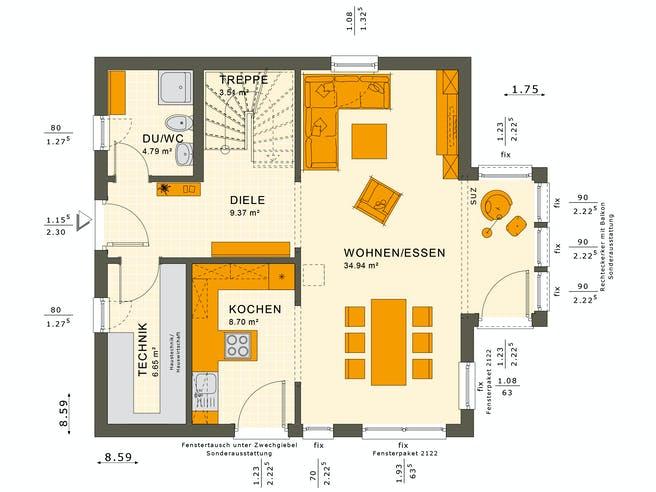 Solution 125 V4-V5 Floorplan 1