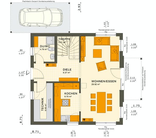 Solutions 125 V5 Floorplan 3