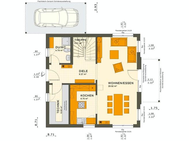 Solutions 125 V5 Floorplan 3