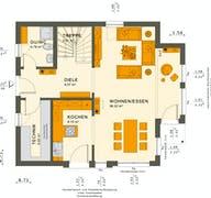 SOLUTION 125 V7 Grundriss