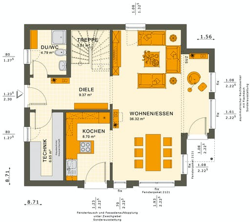 Solutions 125 V7 Floorplan 3