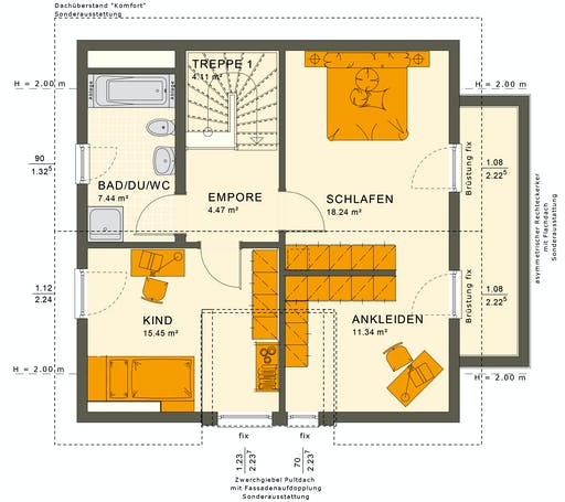 Solutions 125 V7 Floorplan 4