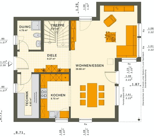 Solutions 125 V9 Floorplan 3