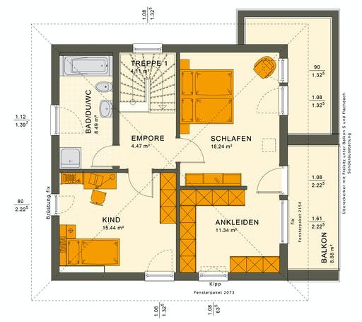 Solutions 125 V9 Floorplan 4