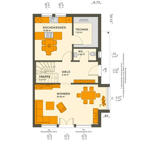 Solution 126 XL V2 Floorplan 1