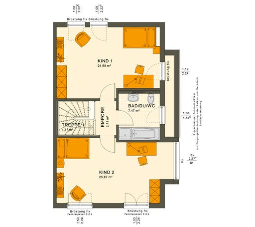 Solution 126 XL V2 Floorplan 2