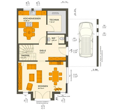 Solution 126 XL V3 Floorplan 1