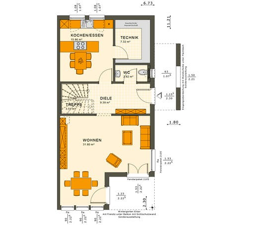 Solution 126 XL V4 Floorplan 1