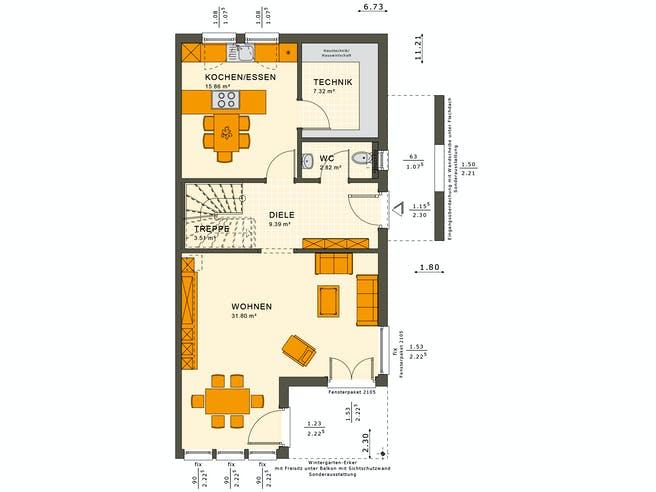 Solution 126 XL V4 Floorplan 1