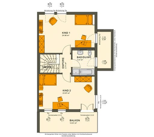 Solution 126 XL V4 Floorplan 2