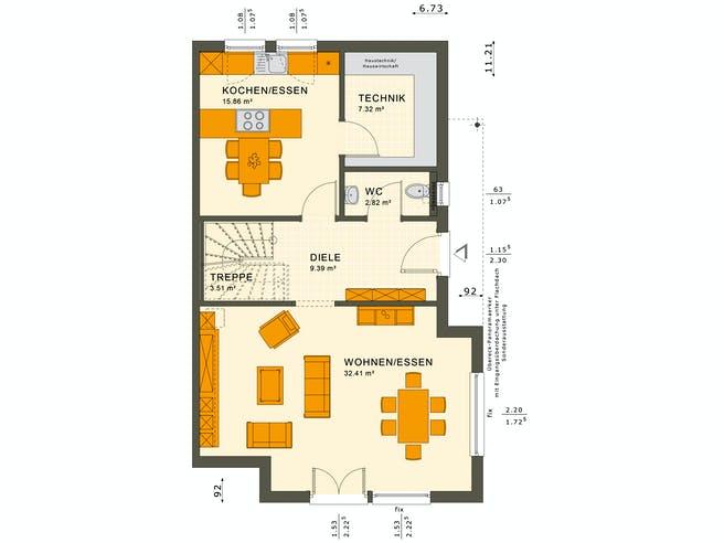 Solution 126 XL V5 Floorplan 1