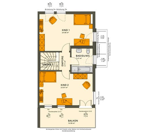 Solution 126 XL V6 Floorplan 2