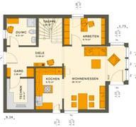 Solution 134 V2 - V3 Grundriss