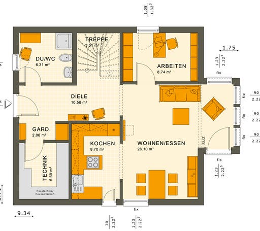 Solution 134 V2-V3 Floorplan 3