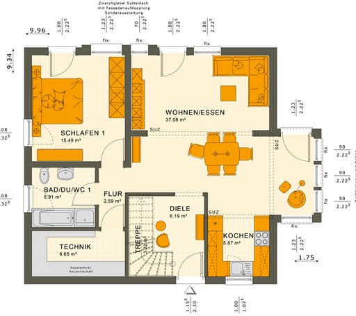 Solution 152 V2 Floorplan 1