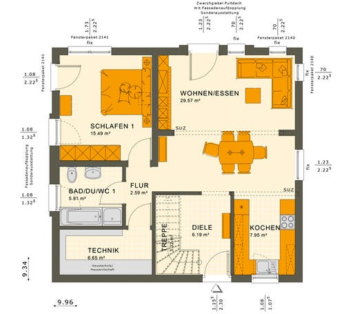 Solution 152 V5 Floorplan 1