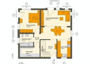 SOLUTION 151 V5 Grundriss