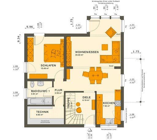 Solution 152 V6 Floorplan 1