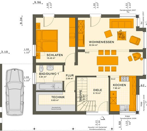 Solution 151 V8 Floorplan 1