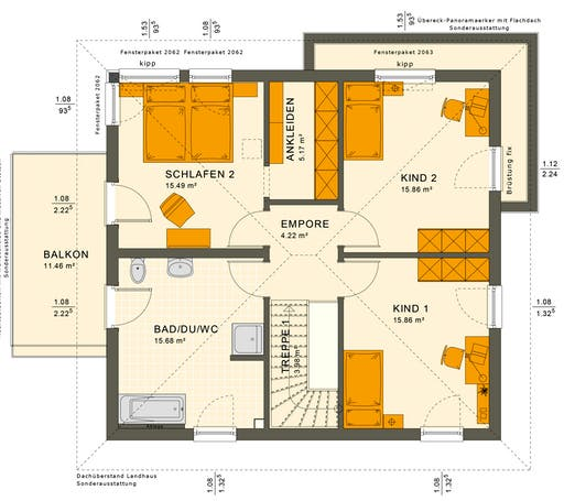 Solution 151 V9 Floorplan 2