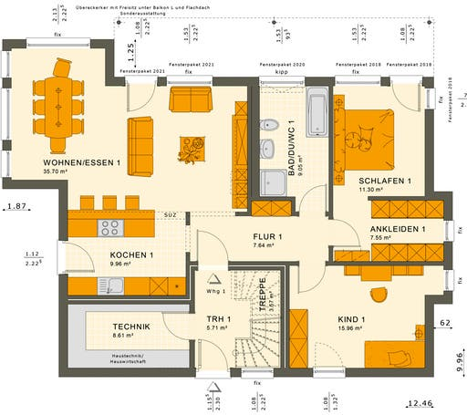 Solution 204 V10-V11 Floorplan 1