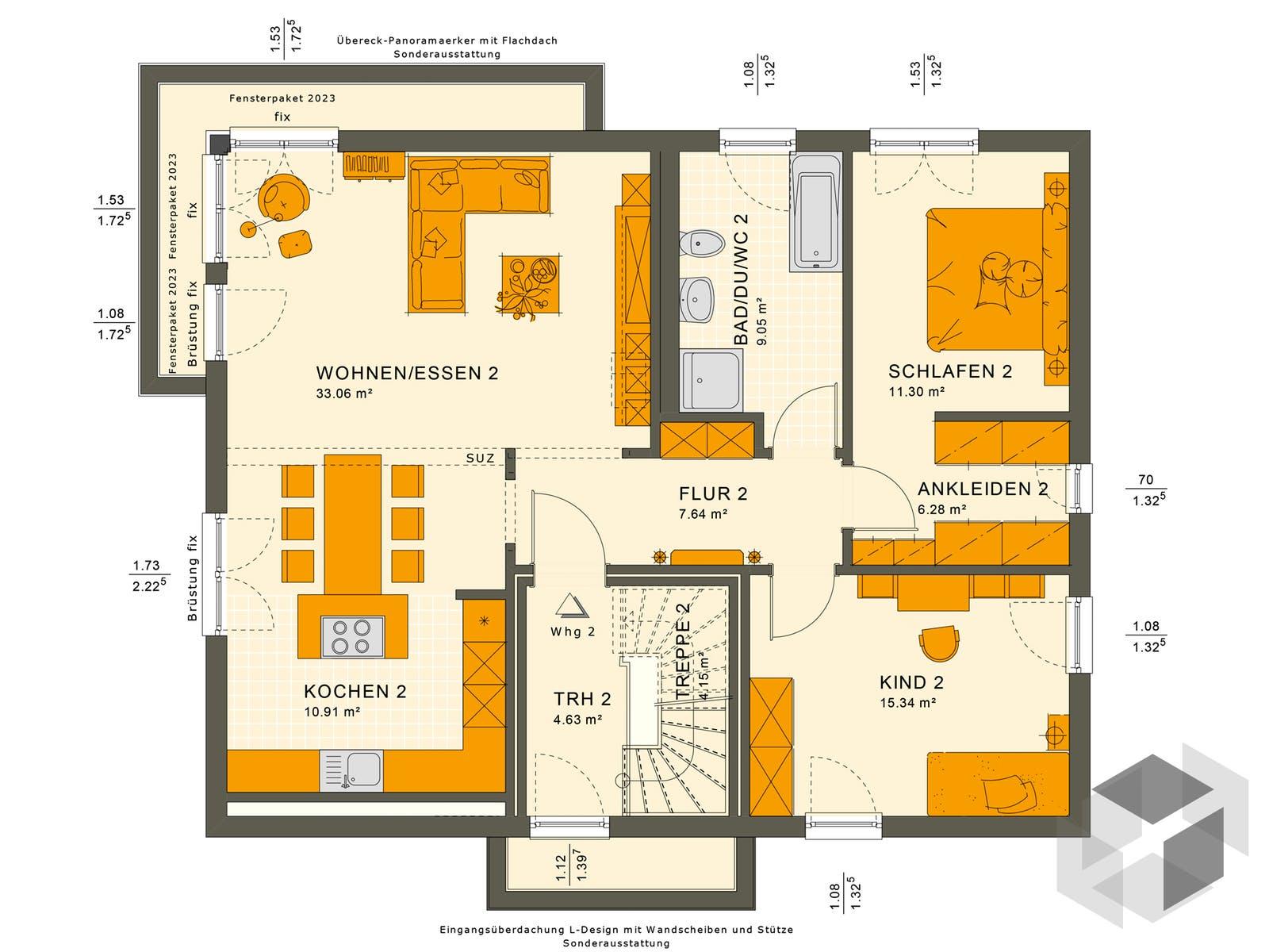 solution 204 v10 von living haus komplette. Black Bedroom Furniture Sets. Home Design Ideas