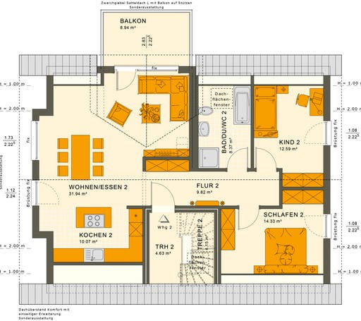Solution 204 V2-V3 Floorplan 4