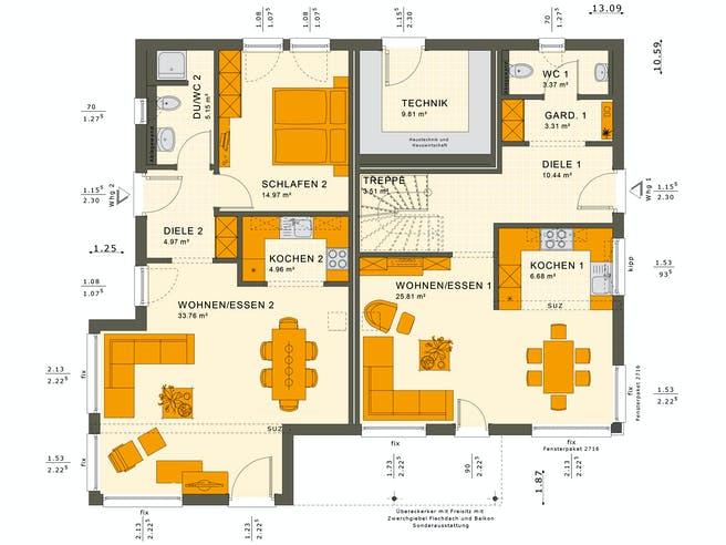 Solutions 230 V5 Floorplan 3