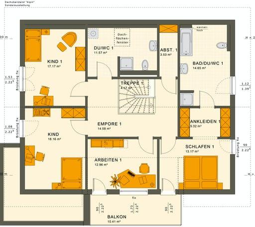 Solutions 230 V5 Floorplan 4