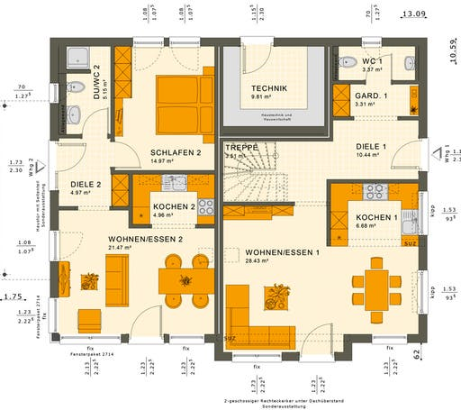 Solution 230 V6 Floorplan 1