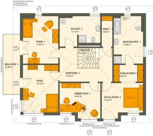 Solution 230 V6 Floorplan 2