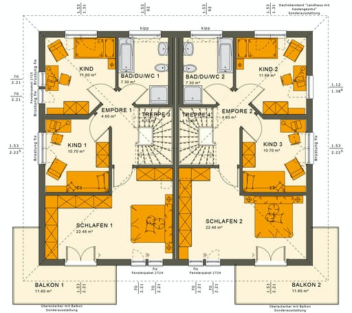 Living Haus - SOLUTION 242 V6 Floorplan 2