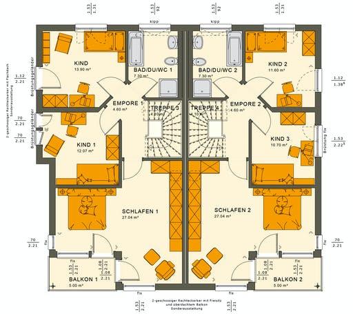 Living Haus - SOLUTION 242 V7 Floorplan 2