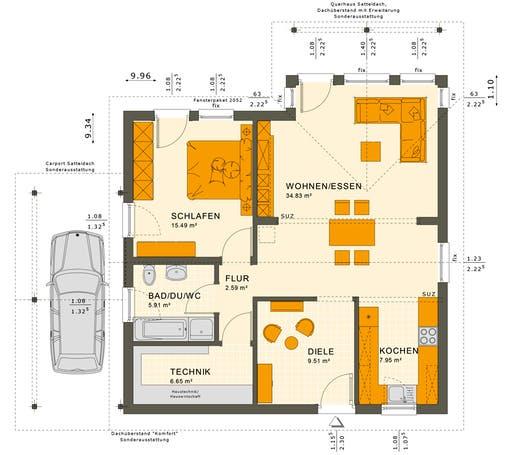 Solution 78 V2-V6 Floorplan 1
