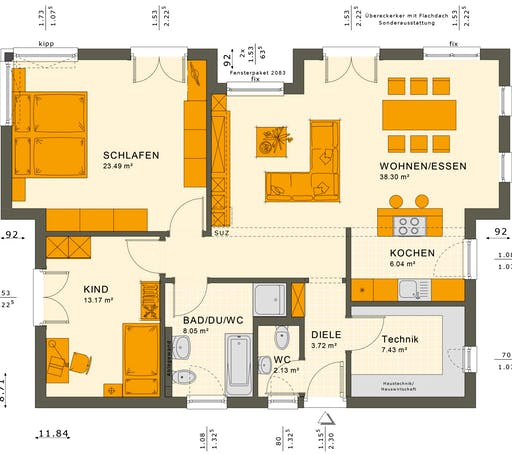 Solution 87 V6-V7 Floorplan 1